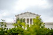 The U.S. Supreme Court building in Washington, June 4, 2018.