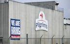 Pilgrim's Pride plant in Cold Spring. Minn. (Dave Schwarz/St. Cloud Times via AP)