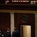 The final tally of the vote to impeach President Donald Trump is displayed in the House chamber.
