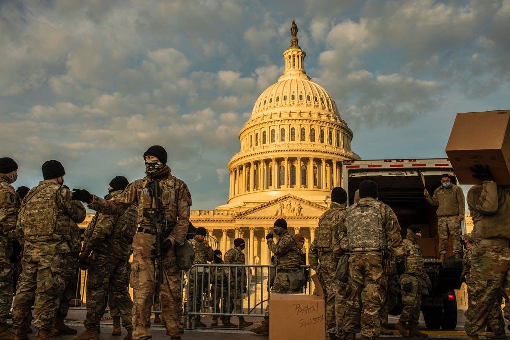 National Guard troops flooding in as Washington locks down | Star Tribune