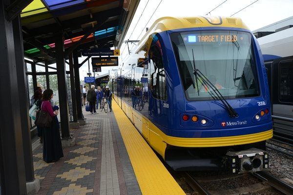 The Hiawatha Light Rail Line is being rebranded as the METRO Blue Line. The Blue Line is the first of the Twin Cities METRO system of rapid transit li