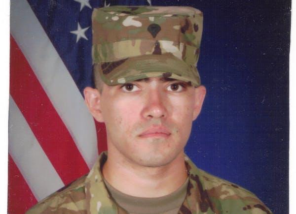 Spc. Joshua Preston of Minneapolis