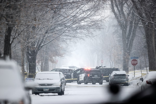 Police shot and wounded a criminal suspect Thursday morning along Dowling Avenue near Vincent Avenue in an exchange of gunfire, authorities said.