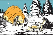 It's not a trip to Antarctica. Make the leap to winter camping