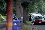 A shooting death in September had St. Paul police investigators on the East Side.