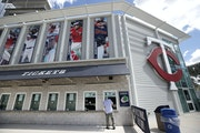 A ticket holder inquired about a refund at the Twins' Hammond Stadium spring training home last March