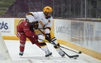 Jackson LaCombe has helped the Gophers' blue line shine this season. Their defense is the nation's second best.