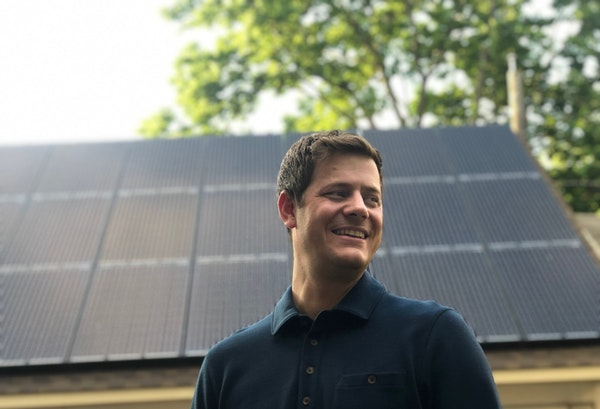 """""""More companies are looking for ways to mitigate operating expenses. Solar is a safe way to do that,"""" says Michael Allen, co-founder of All Energy"""