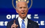 President-elect Joe Biden announced his pandemic plan Thursday.