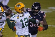 Packers quarterback Aaron Rodgers leads the NFL in touchdowns, passer rating and completion percentage.