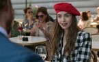"Lily Collins in ""Emily in Paris."""
