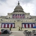 The inauguration stage at the Capitol in Washington on Friday, Jan. 15, 2021, where the inauguration of President-elect Joe Biden is scheduled to take