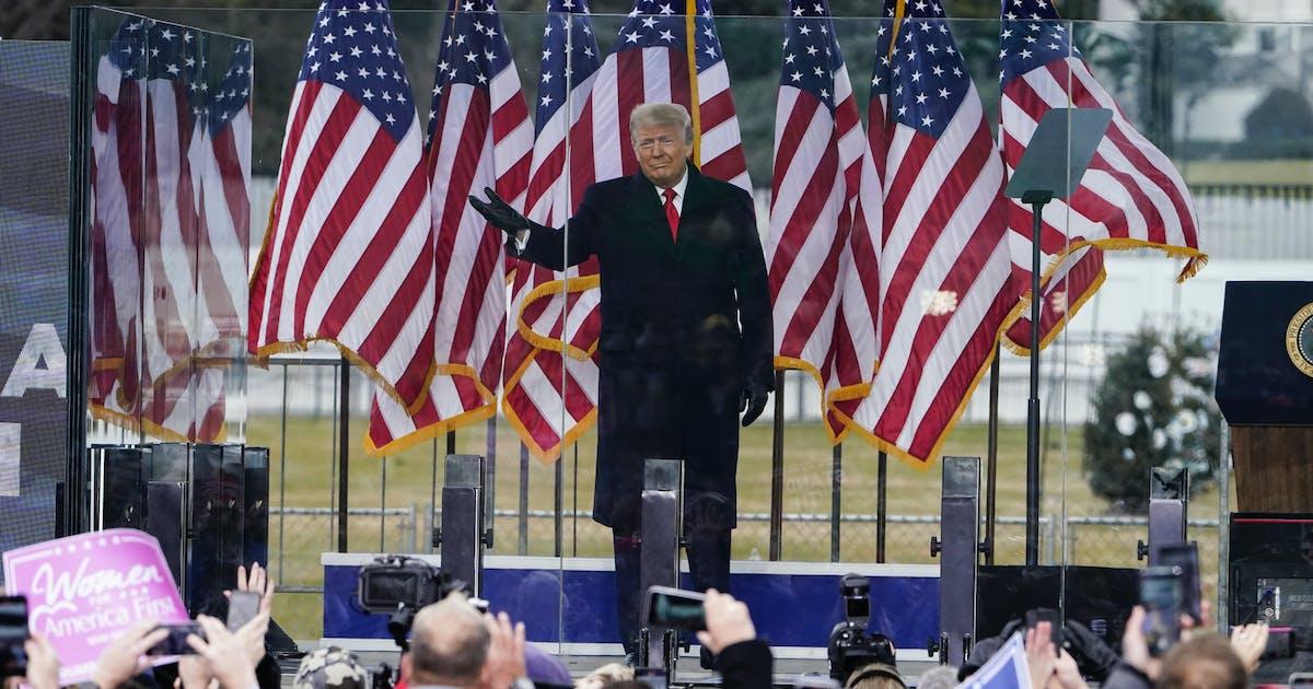 OPINION EXCHANGE   Trump: America's sorest loser