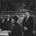 Gov. Wendell Anderson signed the omnibus tax bill in 1971. Watching, from left, were John Haynes, Anderson's tax aide; State Sen. Harold Kalina; Rep