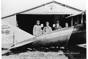 Provided by Minnesota National Guard In 1920, three Minnesota National Guard commanders flew from Minnesota to Washington, D.C. to lobby the federal g