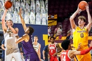 Two of the Big Ten's top centers battle for second time as Gophers host Wolverines
