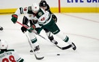 Rask promoted to Wild's top line for Round 2 vs. Kings
