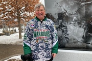 Jerry Miron, 72, of White Bear Lake, attended Saturday's unveiling at Veterans Memorial Park of Blaine. The Vietnam vet said the passage of more tha