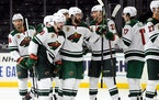 Wild sticks with same script, tops Kings in OT for second straight game