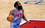 Nets guard James Harden essentially forced his trade from the Rockets.