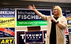 U.S. Rep. Michelle Fischbach swept into office riding a wave of support for President Donald Trump, toppling longtime Democratic U.S. Rep. Collin Pete