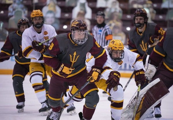 JEFF WHEELER • Star Tribune The Gophers men's team will look to rebound this week against Arizona State in a Thursday-Friday series.