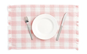 Living with an empty plate now can have a long-term impact on future eating habits.