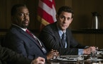 "Wendell Pierce and John Krasinski in ""Jack Ryan."""