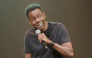 "Chris Rock in ""Tamborine"" on Netflix."