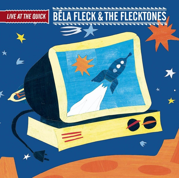 "Top, ""Live at the Quick"" by Bela Fleck and the Flecktones. Above, ""Okie From Muskogee"" by Merle Haggard."