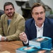 Mike Lindell signed a fresh shipment of his new book at the Shakopee factory of his MyPillow business.