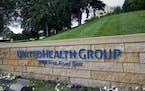 UnitedHealth Group headquarters in Minnetonka. (AP Photo/Jim Mone, File)
