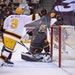 Jeff Wheeler • Star Tribune Gophers captain Sammy Walker (9) celebrated a goal against Arizona State on Jan. 4.