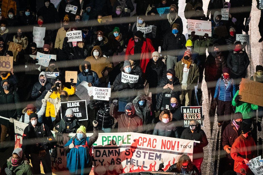 Minneapolis protesters seek focus on progressive priorities | Star Tribune