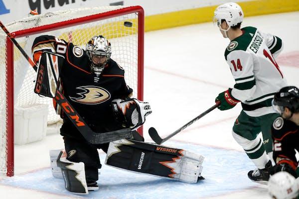 Third line remains Wild's best in win over Ducks