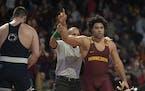 Gophers heavyweight Gable Steveson will face Iowa's third-ranked Tony Cassioppi.