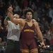 Gophers heavyweight Gable Steveson will face Iowa's third-ranked Tony Cassioppi.