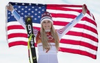 Lindsey Vonn will be part of NBC Sports' World Cup skiing coverage on Saturday and Sunday.