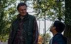 """Liam Neeson and Jacob Perez in """"The Marksman."""" Open Road Films"""