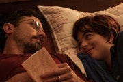 """Casey Affleck and Dakota Johnson in """"Our Friend."""" Roadside Attractions"""