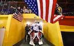 Goalie Skylar Vetter led the United States to the gold medal in the 2020 Women's Under-18 World Championship. She plays for the Lakeville North boys