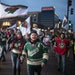 A sight that won't be seen this year ... fans streaming into the Xcel Energy Center for the Wild home opener. This photo is from the 2019 opener.