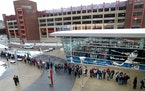 Fans lined up before the start of TwinsFest last year at Target Field.