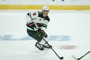 So far this young season, Joel Eriksson Ek is tied for second on the Wild in points and tied for first in plus-minus.
