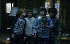 "Gavin MacIver-Wright, Winslow Fegley, Azhy Robertson and Jayden Marine in ""Come Play."""