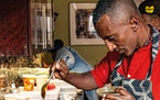 """ANGIE MOSIER Marcus Samuelsson's new book, """"The Rise: Black Cooks and the Soul of American Food,"""" has dozens of stories from Black chefs, histor"""