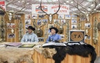 The Northwest Sportshow brings all manner of outdoors exhibits and vendors.