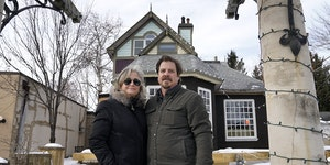 John and Kelly Harrington's renovations of this 120-year-old home in downtown Excelsior are butting up against historic preservation requirements.