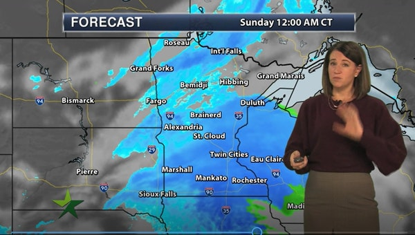 """Afternoon forecast: Snow starting with 3-6"""" expected"""