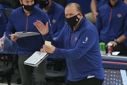 New York Knicks coach Tom Thibodeau
